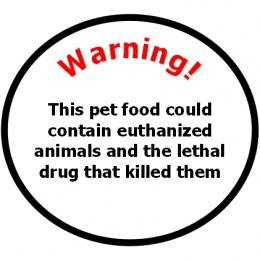 Roger Biduk - Pet food warning euthanized animals.