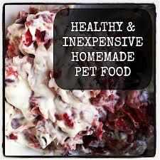 Healthy pet food